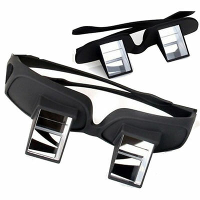 Lazy Eyeglasses Prism Bed Reading Glasses Laying in Movie TV Spectacle Periscope
