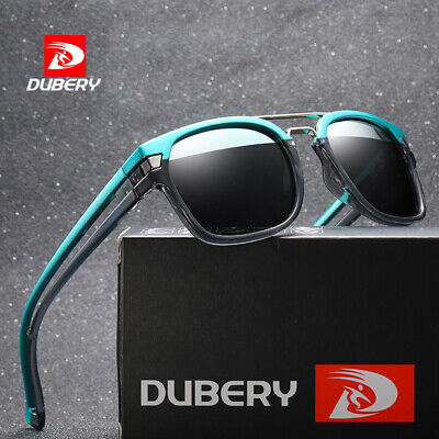 DUBERY Mens Womens Vintage Polarized Sunglasses Driving Shades Eyewear Fishing