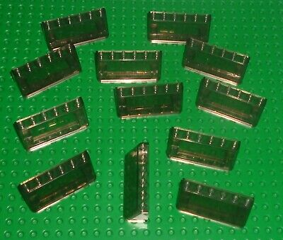 Lego pare brise Windscreen Black 2x6x2 Train with Trans-Clear Glass ref 6567 c01