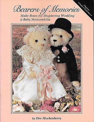 Bearers of memories make bears for wedding displays baby memorabilia vintage '88