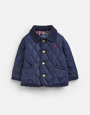 Joules 207286 Baby Quilted Jacket in FRENCH NAVY