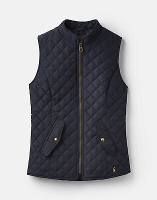 Joules 207521 Quilted Gilet Jacket in MARINE NAVY