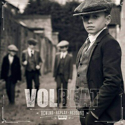 Rewind, Replay, Rebound - Volbeat (Deluxe  Album Digipak) [CD]