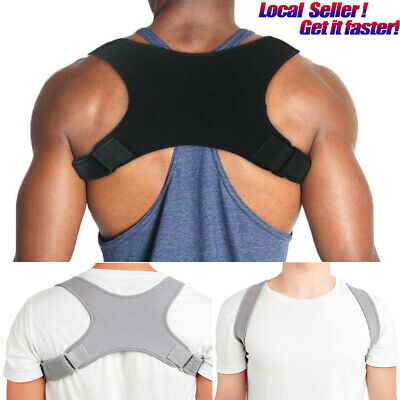 Posture Corrector Back Brace Adjustable for Men Women Shoulder Neck Pain Relief