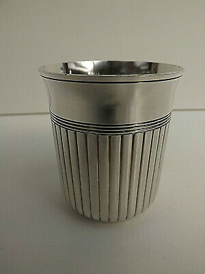 Vintage Christolfe Silver Plated Beaker In Excellent Condition