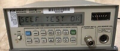 HP Agilent 437B High Performance Single Channel Power Meter Calibrated