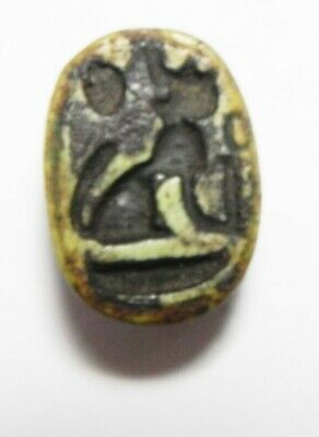 Zurqieh - As13184-  Ancient Egypt. New Kingdom Stone Scarab. 1400-1200 B.c