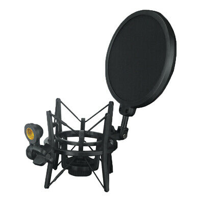MagiDeal Universal Spider Microphone Shock Mount Holder Clip Anti Vibration