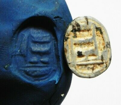 Zurqieh - As13190-  Ancient Egypt. New Kingdom Stone Scarab. 1400-1200 B.c