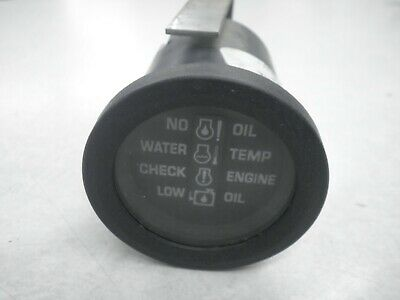 """Used Johnson Evinrude OMC 2"""" System Check Gauge - 176324 / 764043"""