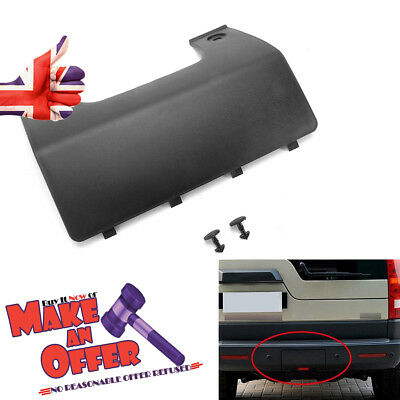 Rear Bumper Tow Eye Cover Panel For Land Rover Discovery 3/4 DPO500011PCL