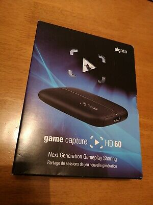 Elgato Hd60 Game Capture Card | Mint Condition | Stream | Xbox | Playstation