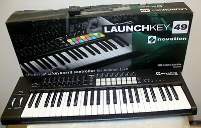 Launchkey 49 MK2 Midi Controller in Box with Ableton Live Lite