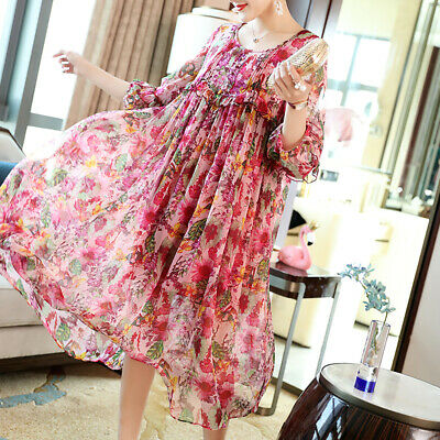 fee1f479641f7 WOMEN CHINESE FASHION Vintage Cheongsam Floral Print Half Sleeve ...