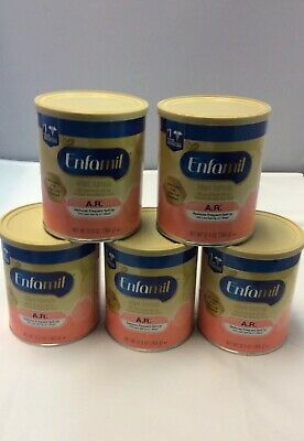 ENFAMIL INFANT POWDER FORMULA. 5- 12.9 oz cans. NEW!