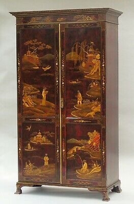 Exceptional Antique Chinoiserie Wardrobe