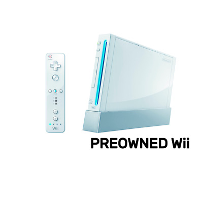 Nintendo Wii Console (Refurbished by EB Games) preowned - Nintendo Wii - PREOWNE