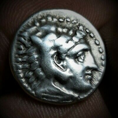 Kingdom of Macedon. Alexander III, the Great, 336-323 BC. AR Drachm