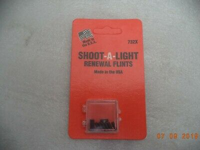 Shoot-A-Light, Sparklighter (10) Renewal Flints, 732X