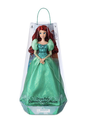 Disney Parks The Little Mermaid Ariel's Celebration Doll Limited New with Box
