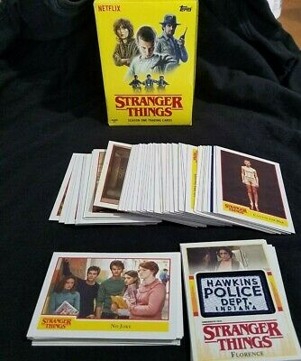 2018 Topps STRANGER THINGS Trading Cards Blaster Box w/ Patch Card