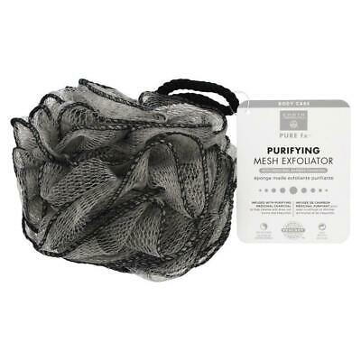 EARTH THERAPEUTICS - Purifying Mesh Exfoliator with Medicinal Bamboo Charcoal