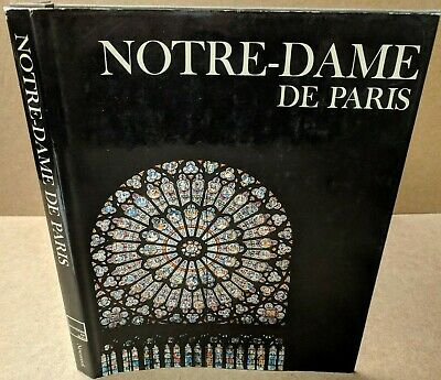 NOTRE-DAME DE PARIS Hardcover BOOK Newsweek 1971 Wonders of Man VERY NICE