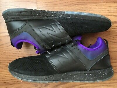 5a410de6b10e5 New Balance 247 Stance Men Size 12 All Night Purple Black MRL247ST USED NO  SOCKS
