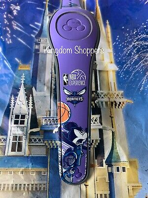 DISNEY PARKS Charlotte Hornets Mickey Magic Band Magicband Unlinked Any Color