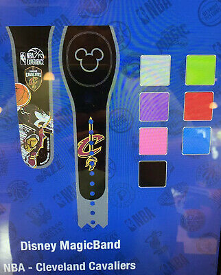 DISNEY PARKS Cleveland Cavaliers Mickey Magic Band Magicband Unlinked Any Color