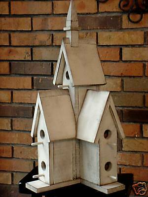 Cathedral Birdhouse PATTERN & INSTRUCTIONS You Build-2019-July