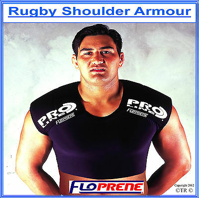 Floprene Rugby Shoulder Armour Protective Padding