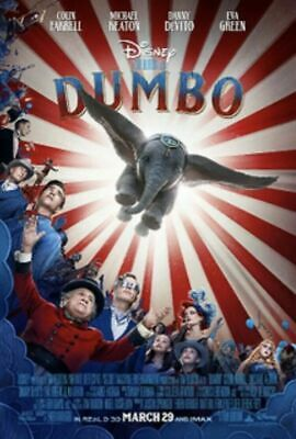 Dumbo [DVD] [2019] NEW* Adventure, Family, Fantasy 2-4 days delivery