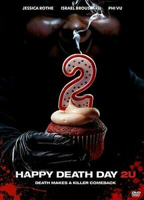 """""""HAPPY DEATH DAY 2U"""" DVD [NEW/SEALED] FREE SHIPPING (2019) With Slipcover"""