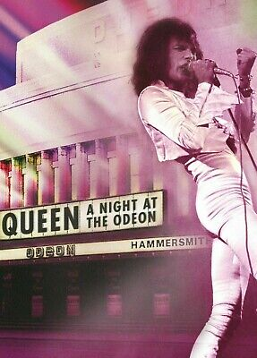 QUEEN - A NIGHT AT THE ODEON '75 All Region NTSC DVD ~ FREDDIE MERCURY *NEW*
