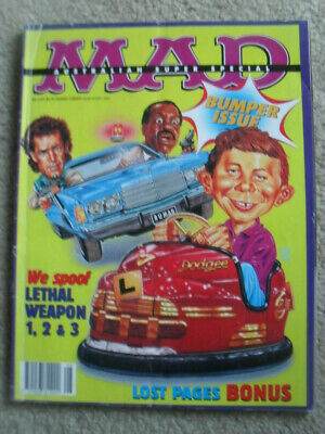 Mad Australian Super Special Comic Lethal Weapons Mel Gibson Danny Golver