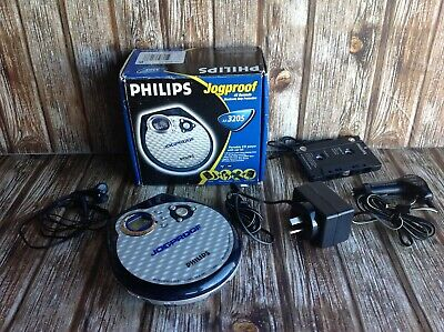 Philips Jogproof Cd Walkman Complete Boxed All Accessories Included Vgc