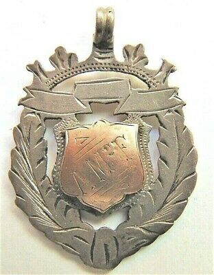 1907 Australian Fob, silver & gold by a Sydney Jeweller,Carrington Football Club