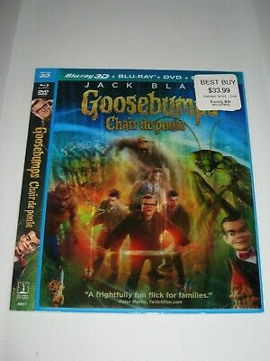 Goosebumps 3D /Blu Ray Lenticula Cover Only/ No Disc