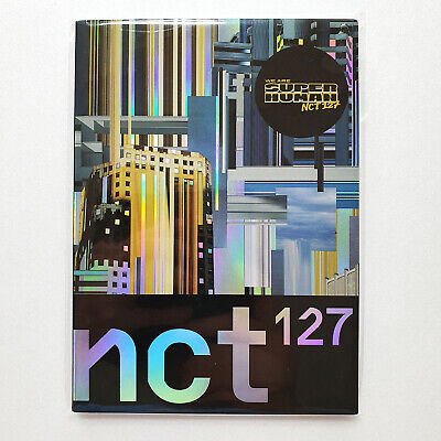 NCT127 the 4th Mini Album [We Are Superhuman] Official Postcard Book
