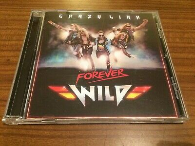 CRAZY LIXX Forever Wild CD 2019 NEW Sealed