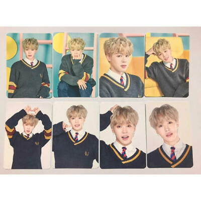BTS JIMIN Mini Photo Card Set Fanmeeting Vol.4 Official Goods Happy Ever After