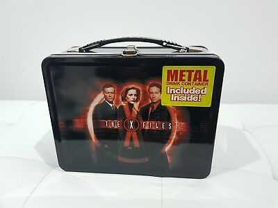x files tv series lunch box + thermos
