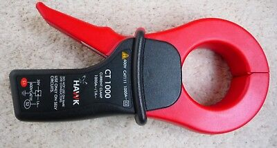 HAWK CT1000  AC CURRENT PROBE 1000AMP RMS 600VAC RMS   Rated Primary current 0.1