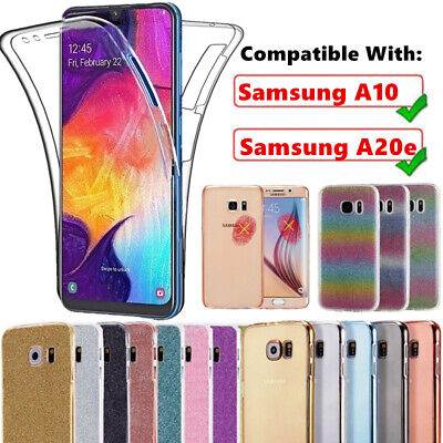 Ultra Slim 360° Shockproof TPU Protective Case Cover for Samsung Galaxy A10 A20e