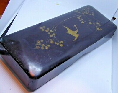 Vintage Japanese Lacquer Painted Box