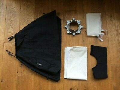 Genuine Bowens 80cm x 60cm Softbox with Speedring - Excellent Condition.