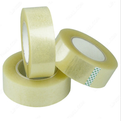 Clear Strong Parcel Packing Tape Carton Sealing 48Mm X 66M Sellotape Packagingng