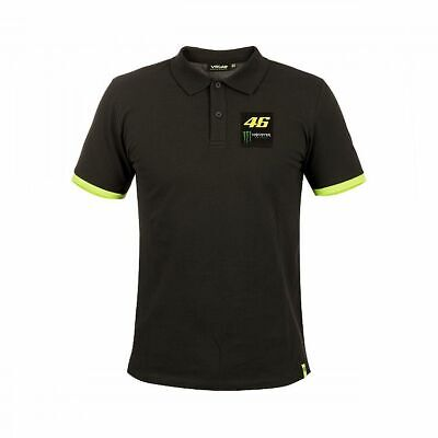 Valentino ROSSI VR46 Moto GP Monster Dual Polo shirt Dark Grey - Mens