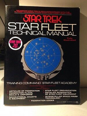 JAMES DOOHAN STAR TREK  Hand Signed Autographed Star Fleet Manual